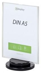 INSPIN AD1-A5 drehbarer Tischaufsteller