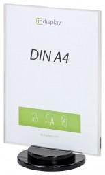 INSPIN AD1-A4 drehbarer Tischaufsteller