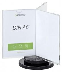INSPIN AD3-A6 drehbarer Tischaufsteller