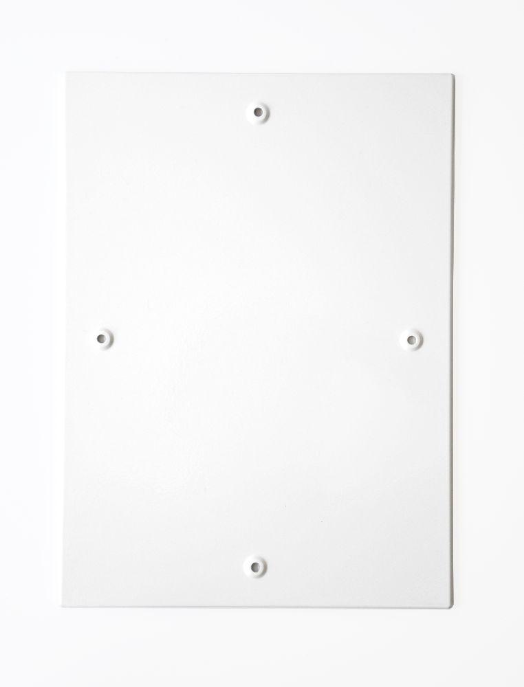 A3 Plakatrahmen aus Stahl weiß mit Magnetverschluß
