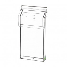 Flyerhalter, Prospektbox DL outdoor aus Acrylglas