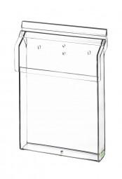 Flyerhalter, Prospektbox A5 outdoor aus Acrylglas