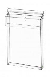 Flyerhalter, Prospektbox A4 outdoor Acrylglas