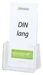 Prospekthalter DIN lang (1/3 A4) freist. C110