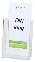Prospekthalter DIN lang (1/3 A4) hängend oder freist. W110