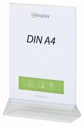 Menükartenhalter DIN A4 PS/PVC V210