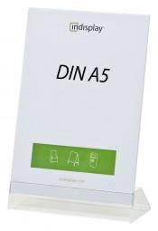 L-Aufsteller DIN A5 PS/PVC L150