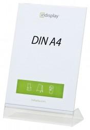 L-Aufsteller DIN A4 PS/PVC L210