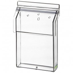 Flyerhalter, Prospektbox A6 outdoor Acrylglas