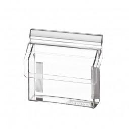Visitenkartenbox mit Deckel outdoor aus Acrylglas