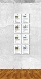 Seil-Display-System A4 hoch 2x4