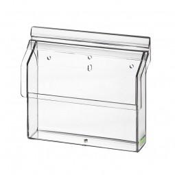 Flyerhalter, Prospektbox A6 quer outdoor Acrylglas