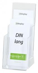 Prospekthalter 2x DIN lang (1/3 A4) freist. 2C110