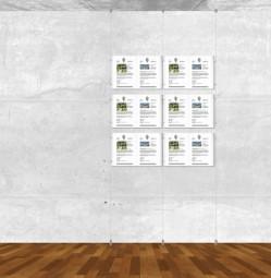 Seil-Display-System A3 quer 2x3