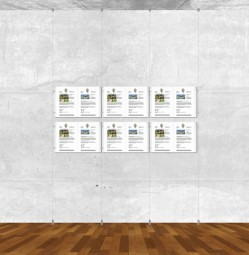 Seil-Display-System A3 quer 3x2