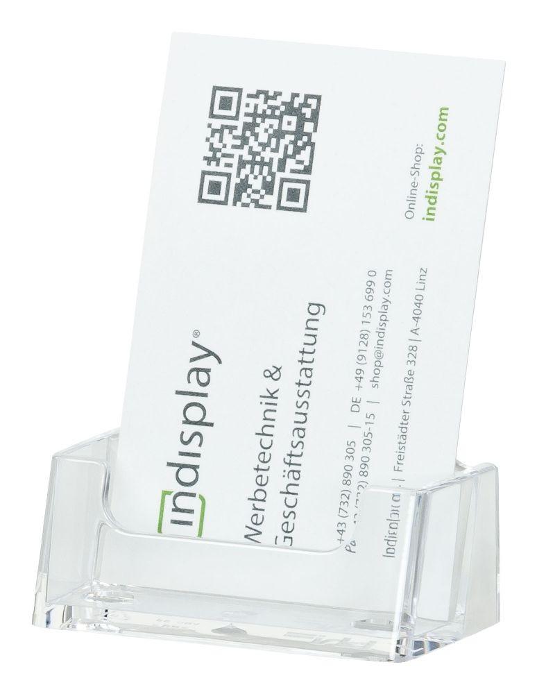 Visitenkartenhalter 1fach Hochformat Vbc56