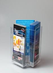 Tischprospektständer 3 x DL drehbar CL-RS3108