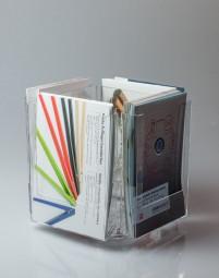 Tischprospektständer 4 x A5 drehbar CL-RS4152