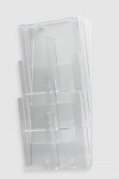 Wandprospekthalter 6 x DL 3W230-DL