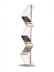 Prospektständer Zickzack 6 x A4
