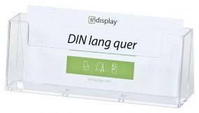 Prospekthalter DL quer freistehend CL230