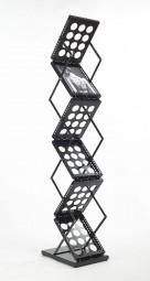 Prospektständer LOOP klappbar 6 x A4 schwarz