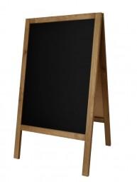 Kreidetafel-Aufsteller Holz Indoor 90 x 51