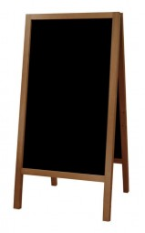 Kreidetafel-Aufsteller Holz Outdoor XL 118 x 61