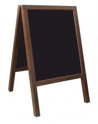 Kreidetafel-Aufsteller Holz Outdoor 100 x 60