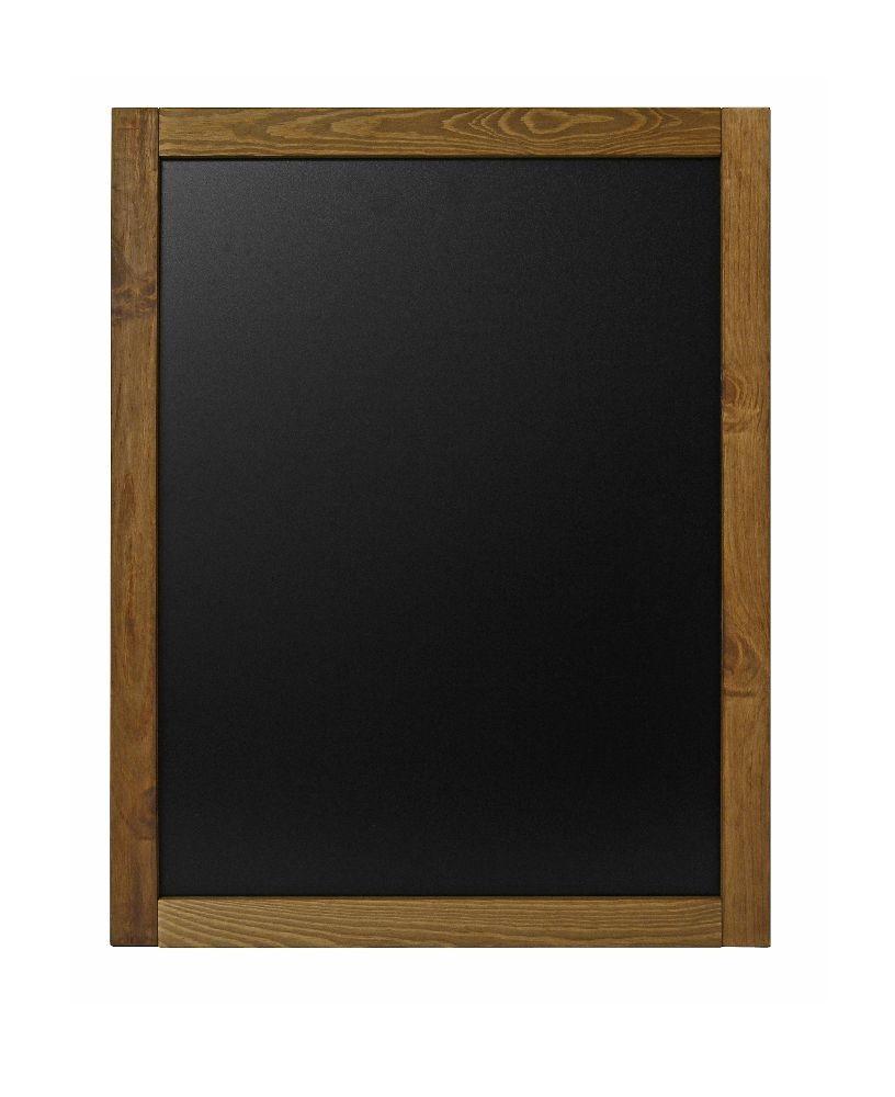 Kreidetafel Wandrahmen Holz Indoor 47 x 60