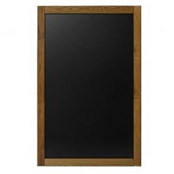 Kreidetafel Wandrahmen Holz Indoor 47 x 79